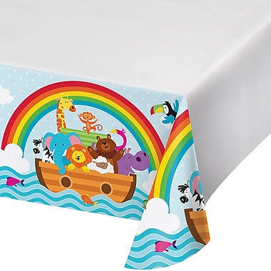 Creative Converting Noah's Ark Plastic Tablecover (317670)