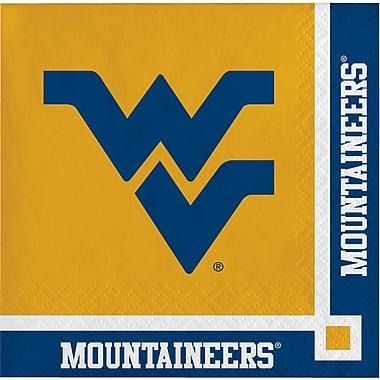 NCAA West Virginia University Beverage Napkins 20 pk (654895)