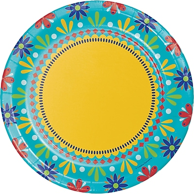 Creative Converting Painted Pottery Paper Plates 8 pk (319664)