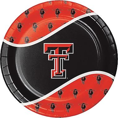 NCAA Texas Tech University Paper Plates 8 pk (424891)