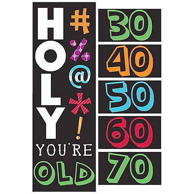 Creative Converting Holy Bleep Giant Party Banner (295014)