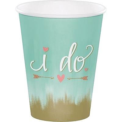 Creative Converting Mint To Be Cups 8 pk (324682)