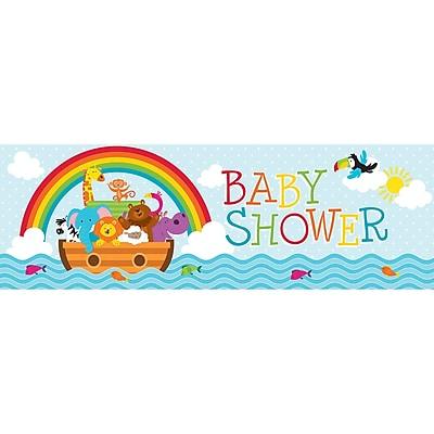 Creative Converting Noah's Ark Baby Shower Banner (317673)