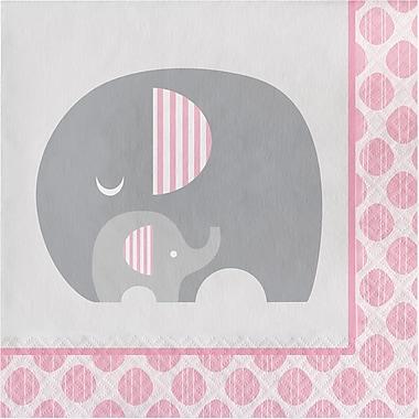 Creative Converting Little Peanut Girl Elephant Napkins 16 pk (316942)
