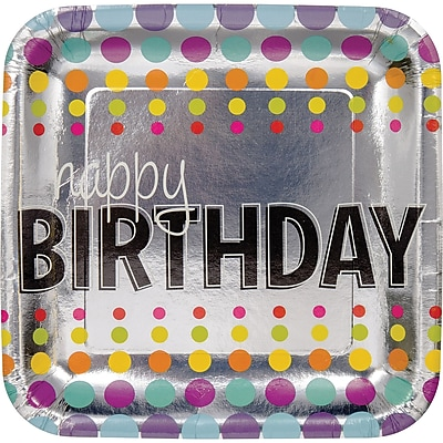Creative Converting Birthday Pop Paper Plates 8 pk (425834)