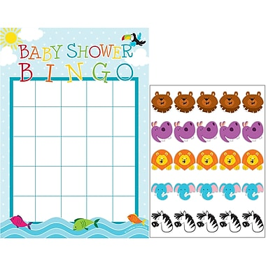 Creative Converting Noah's Ark Baby Shower Bingo 10 pk (317677)