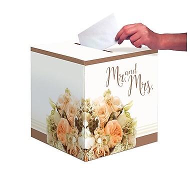 Creative Converting Rose Gold Bouquet Card Box (318164)