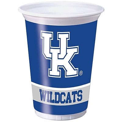 NCAA University of Kentucky Plastic Cups 8 pk (324858)