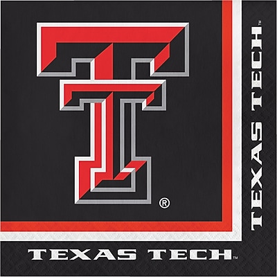 NCAA Texas Tech University Napkins 20 pk (664891)