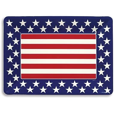 Creative Converting Patriotic Plastic Serving Tray (054020)