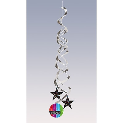 Creative Converting Milestone Celebrations Deluxe Danglers 2 pk (035683)