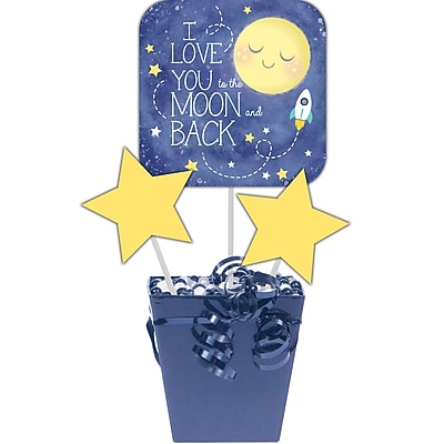 Creative Converting To the Moon and Back DIY Centerpiece Sticks 3 pk (322276)