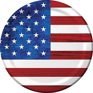Creative Converting Patriotism Paper Plates 8 pk (319620)