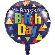 Creative Converting Geo-Pop Birthday Mylar Balloon (324637)