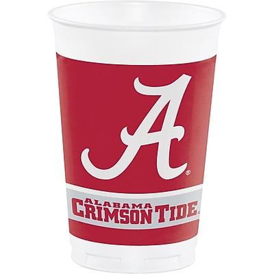 NCAA University of Alabama Plastic Cups 8 pk (374697)