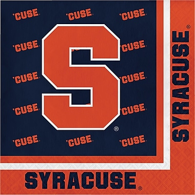NCAA Syracuse University Napkins 20 pk (318305)