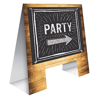 Creative Converting Cheers and Beers Tabletop Easel (325082)
