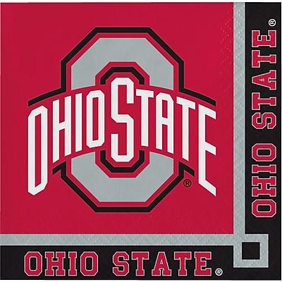 NCAA Ohio State University Beverage Napkins 20 pk (318559)
