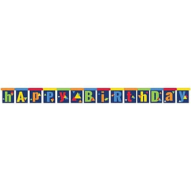 Creative Converting Geo-Pop Birthday Party Banner (324636)