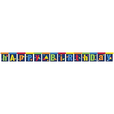 Creative Converting Geo-Pop Birthday Party Banner (324636)