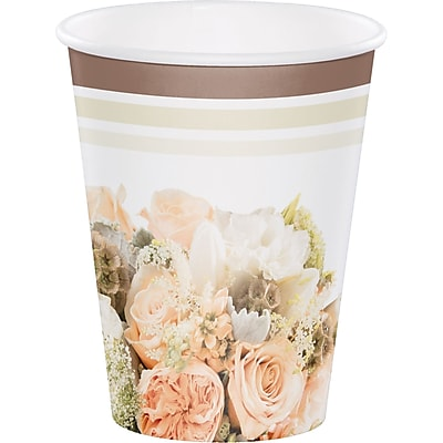 Creative Converting Rose Gold Bouquet Cups 8 pk (318160) 2677310