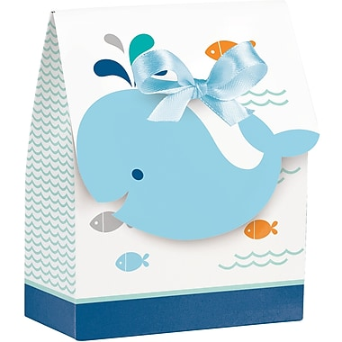 Creative Converting Blue Baby Whale Favor Bags 12 pk (324420)