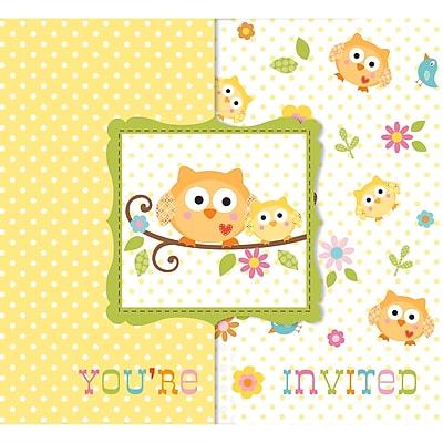 Creative Converting Happi Tree Invitations 8 pk (897128)