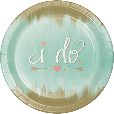Creative Converting Mint To Be Banquet Plates 8 pk (324677)