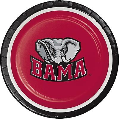 NCAA University of Alabama Dessert Plates 8 pk (410697)