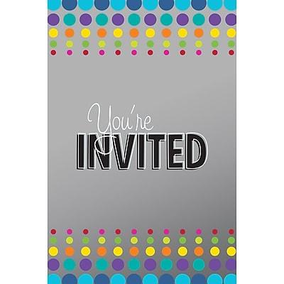 Creative Converting Birthday Pop Invitations 8 pk (895834)