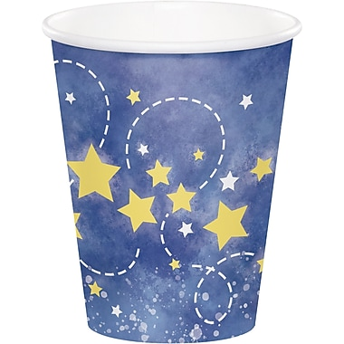 Creative Converting To the Moon and Back Cups 8 pk (321808)