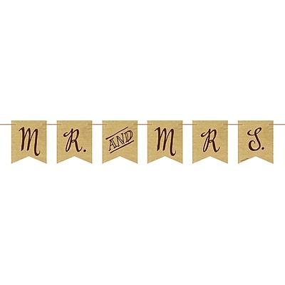 Creative Converting Rustic Wedding