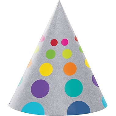 Creative Converting Birthday Pop Party Hats 8 pk (201834)