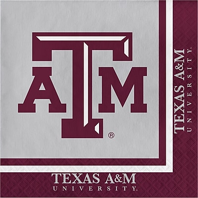 NCAA Texas A and M University Napkins 20 pk (664848)