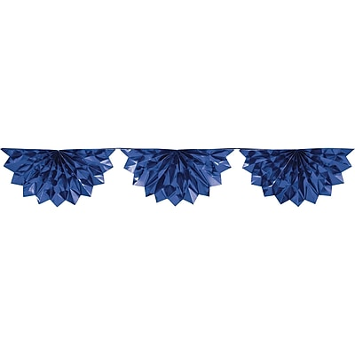 Creative Converting Blue Foil Bunting (030065)
