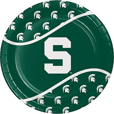 NCAA Michigan State University Paper Plates 8 pk (424716)