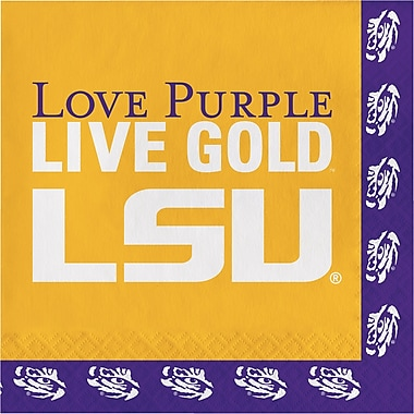 NCAA Louisiana State University Napkins 20 pk (660838)