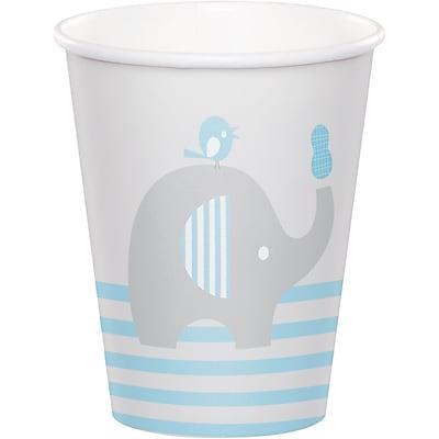 Creative Converting Little Peanut Boy Elephant Cups 8 pk (316938)