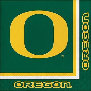 NCAA University of Oregon Napkins 20 pk (664907)