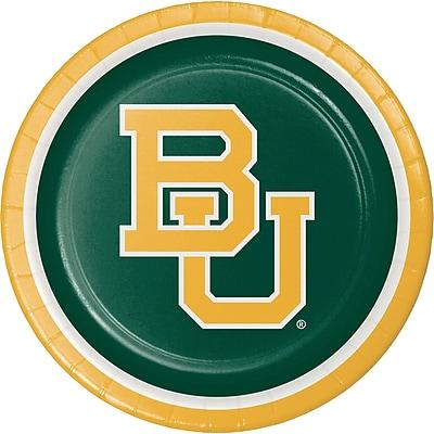 NCAA Baylor University Paper Plates 8 pk (424352)