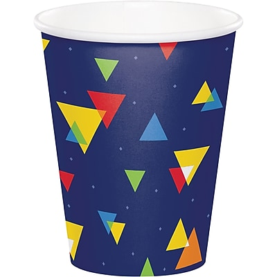 Creative Converting Geo-Pop Birthday Cups 8 pk (324632) 2676963