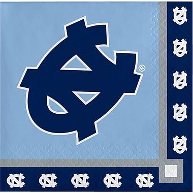NCAA University of North Carolina Beverage Napkins 20 pk (654889)