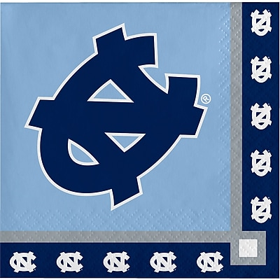 NCAA University of North Carolina Beverage Napkins 20 pk (654889)