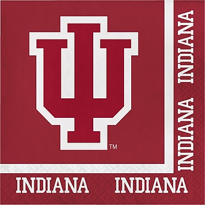 NCAA Indiana University Napkins 20 pk (664924)