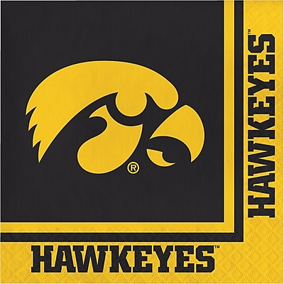 NCAA University of Iowa Napkins 20 pk (669900)