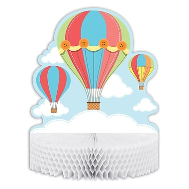 Creative Converting Up, Up, and Away Hot Air Balloon Centerpiece (315327)