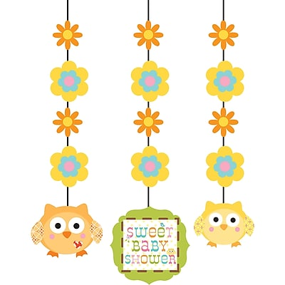 Creative Converting Happi Tree Hanging Cutouts 3 pk (997128)