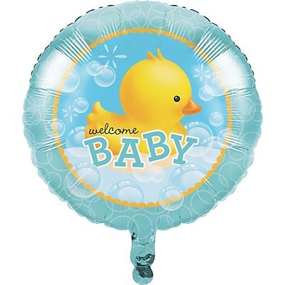 Creative Converting Rubber Duck Bubble Bath Mylar Balloon (047058)