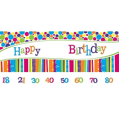 Creative Converting Bright and Bold Giant Party Banner (299412)