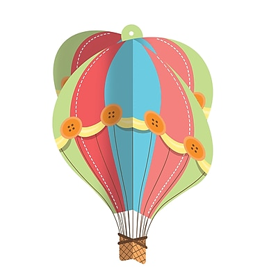 Creative Converting Up, Up, and Away Hanging Hot Air Balloon (315334)